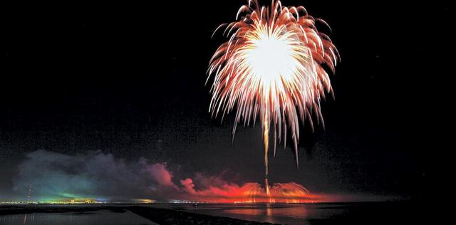 The World's Largest Firework Display In History
