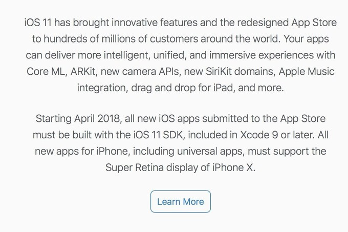 Apple Changed The Requirements For App Developers