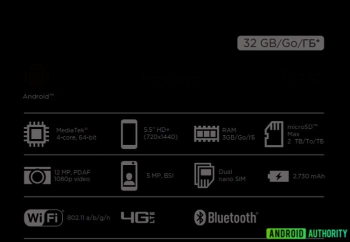 HTC Desire 12 can debut in several versions