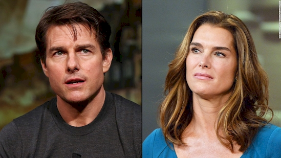 Tom Cruise and Brooke Shields