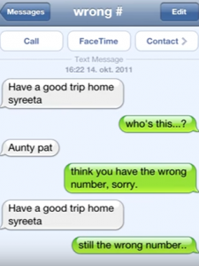 Top 28 Funny Responses To Wrong Number Texts