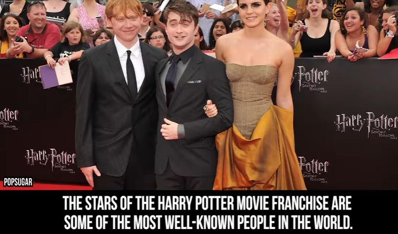 15+ Pictures Harry Potter Stars Don't Want You To See