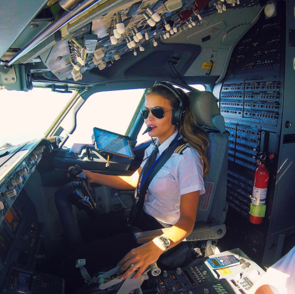 The Internet Is Going Nuts Over The World's Sexiest Pilot