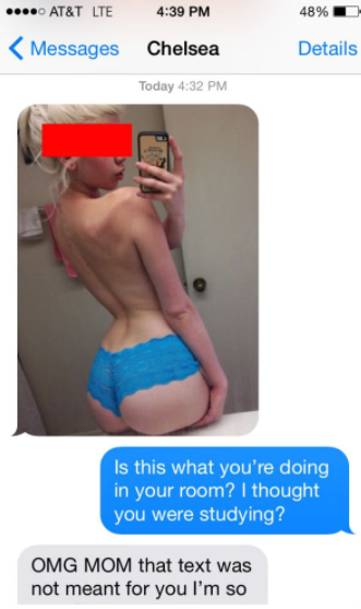 Girls Who Sent Their Private Pictures By Mistake And Regretted Later!