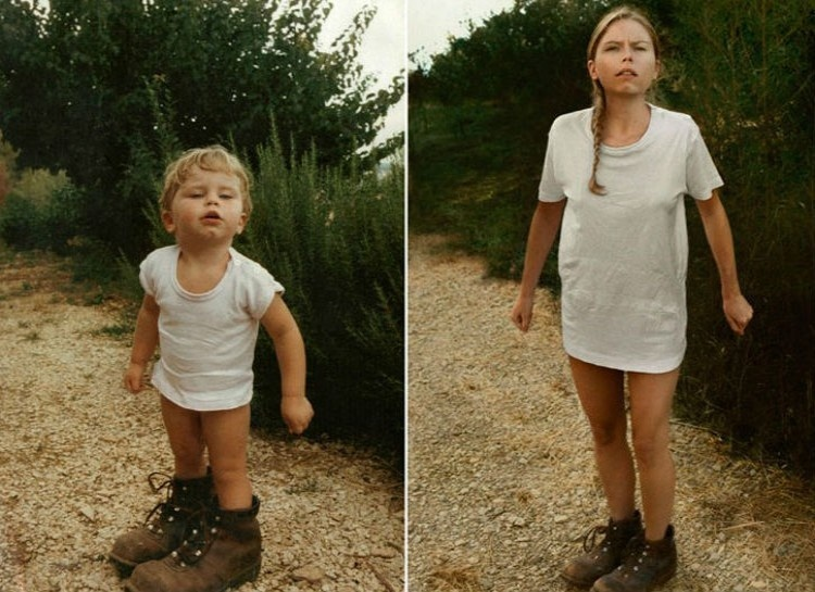 38 Adults Who Hilariously Recreated Their Childhood Photos