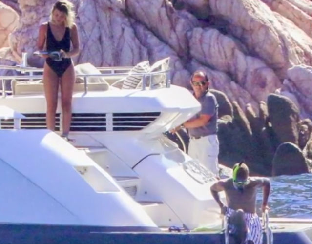 12 Celebrities Livin' It Large On Super Yachts