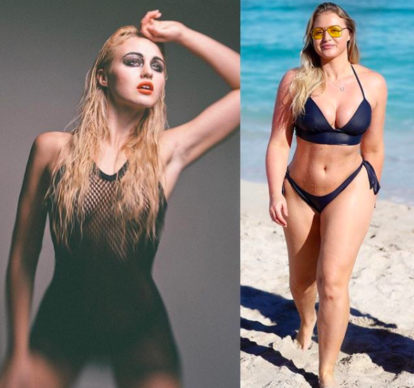 Model Flaunts Incredible Body In Before And After Photos To Promote Body Positivity