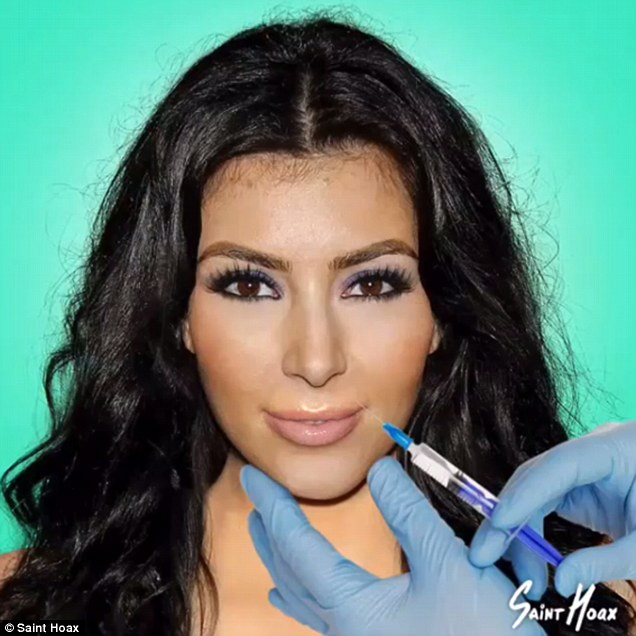 The Evolution Of Kim And Kylie's Faces Is Scary!
