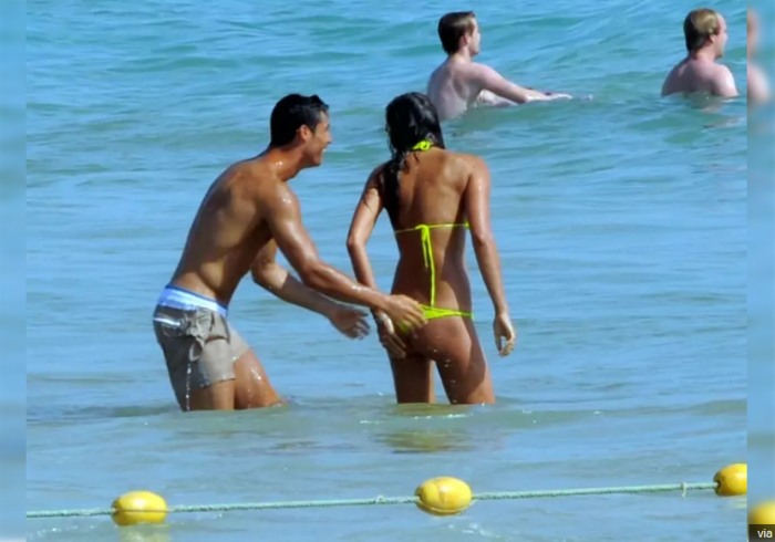 9 Of The Hottest Girls Ever Spotted With Cristiano Ronaldo