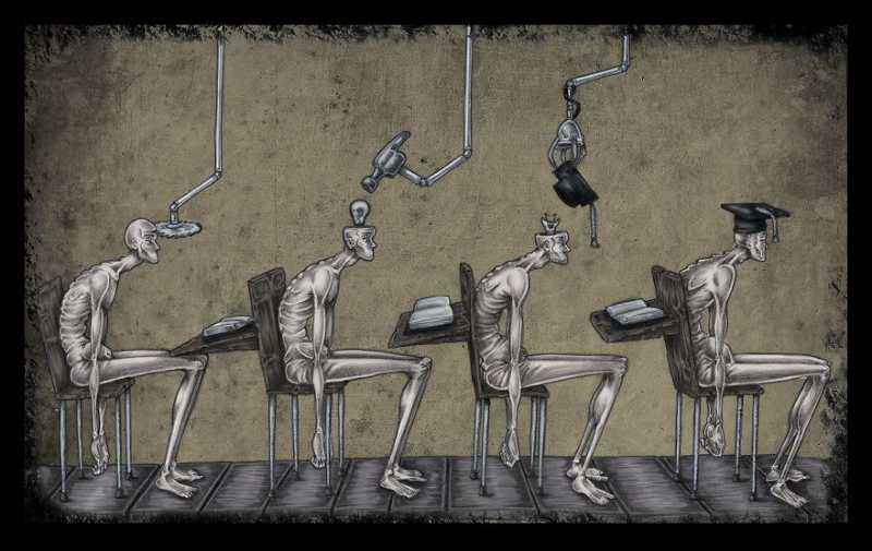 13 Satirical Illustrations That Reveal The Real Face Of Our Society