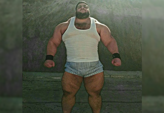 Real Hulk-Man Exists And He Looks More Muscular Than The Animated Version