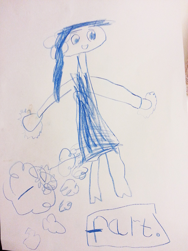 19 Times When Kids' Drawings Were Unintentionally Inappropriate But Hilarious