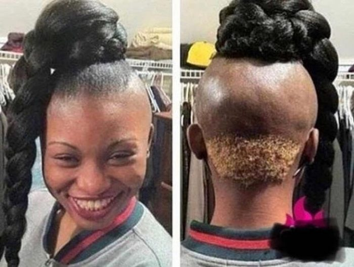 19 Strange And Ridiculous Hairstyles, Which Hardly Anyone Dares To Repeat –  Page 2 of 2 – The Viraler