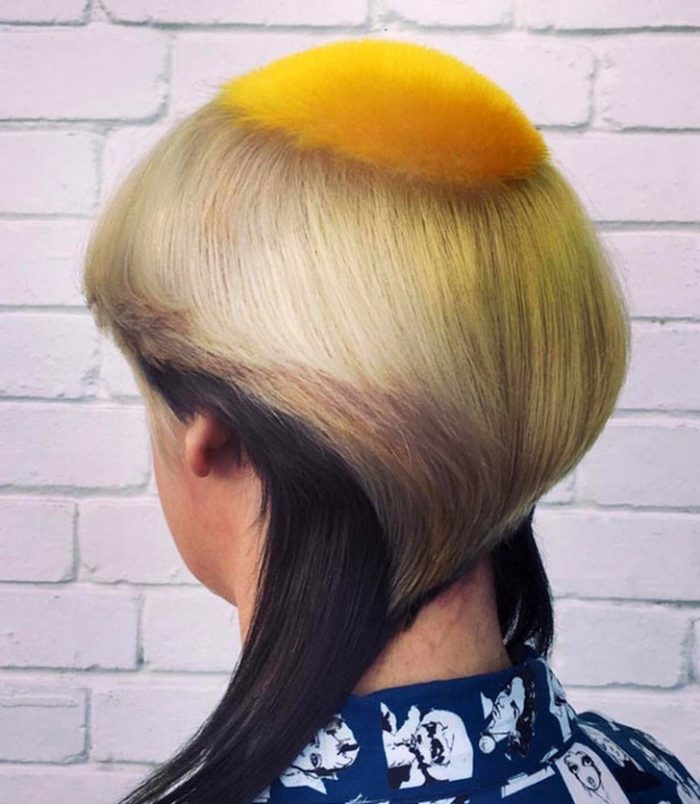 19 Strange And Ridiculous Hairstyles, Which Hardly Anyone Dares To Repeat