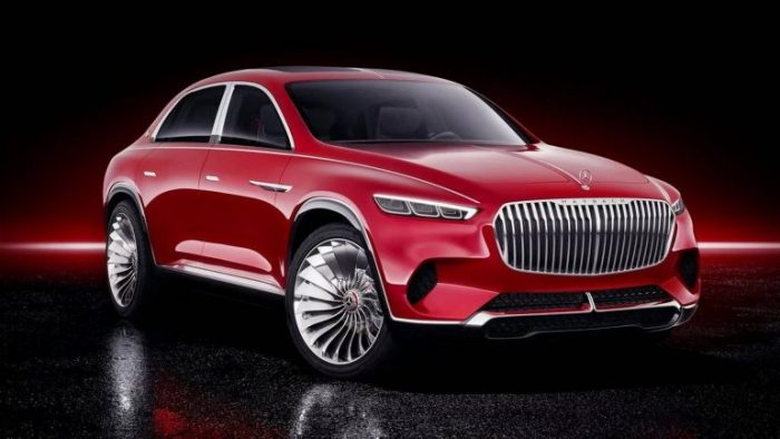 Electric Concept Mercedes-Maybach Ultimate Luxury (10 Photos)