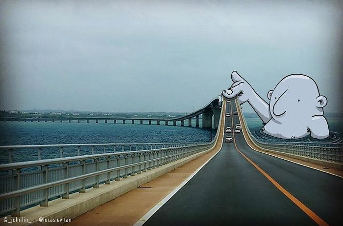 Funny Photoshop By Brazilian Artist Lucas Levitan (25 Photos)