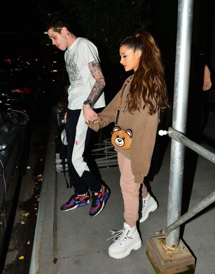 4 Photos Of Ariana Grande And Pete Davidson Night Out In NYC 07/02/2018