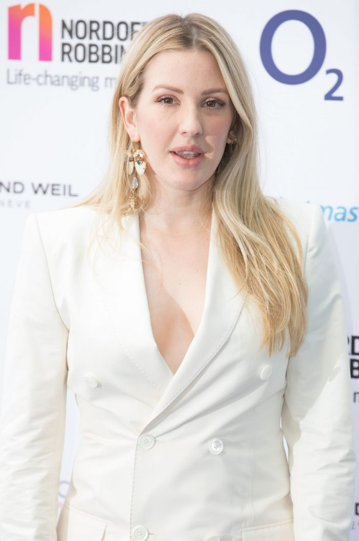 4 Photos Of Ellie Goulding – O2 Silver Clef Awards 2018 In London
