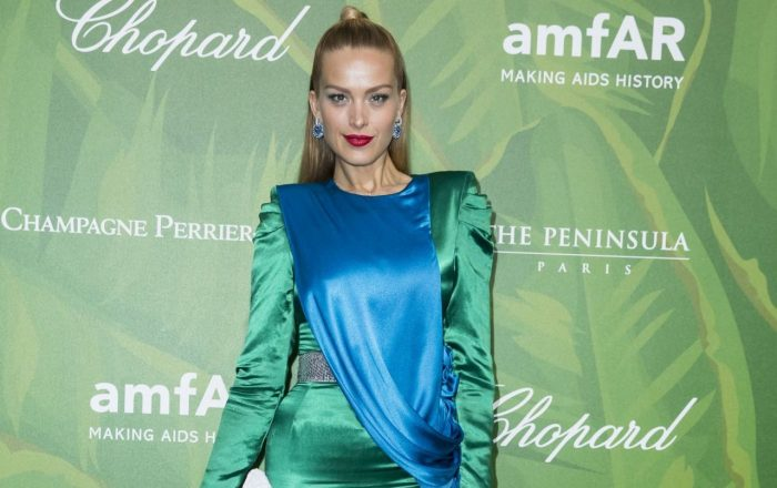 10 Photos Of Petra Nemcova – amfAR Paris Dinner 2018