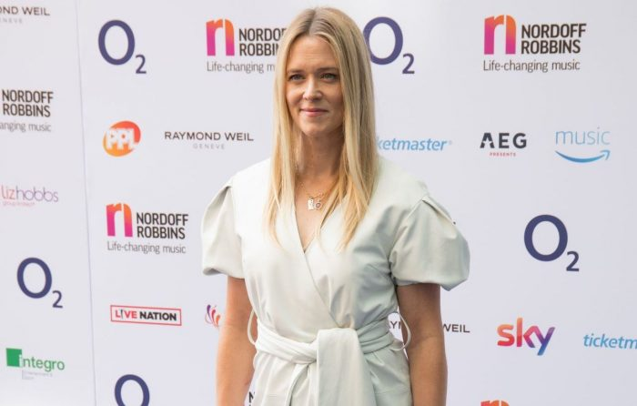 Edith Bowman – O2 Silver Clef Awards 2018 In London