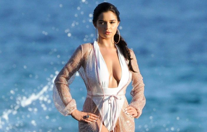 6 Photos Of Demi Rose In Swimsuit – Photoshoot In Ibiza 06/18/2018