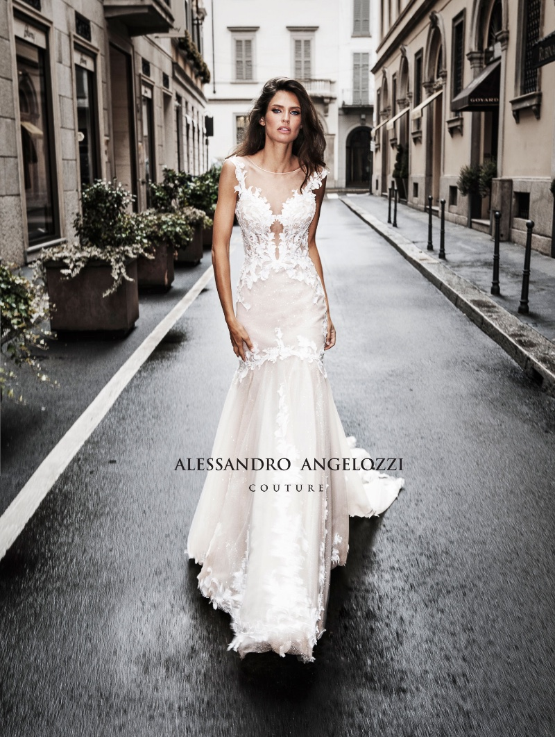 Bianca Balti In Alessandro Angelozzi Couture's Bridal Dresses