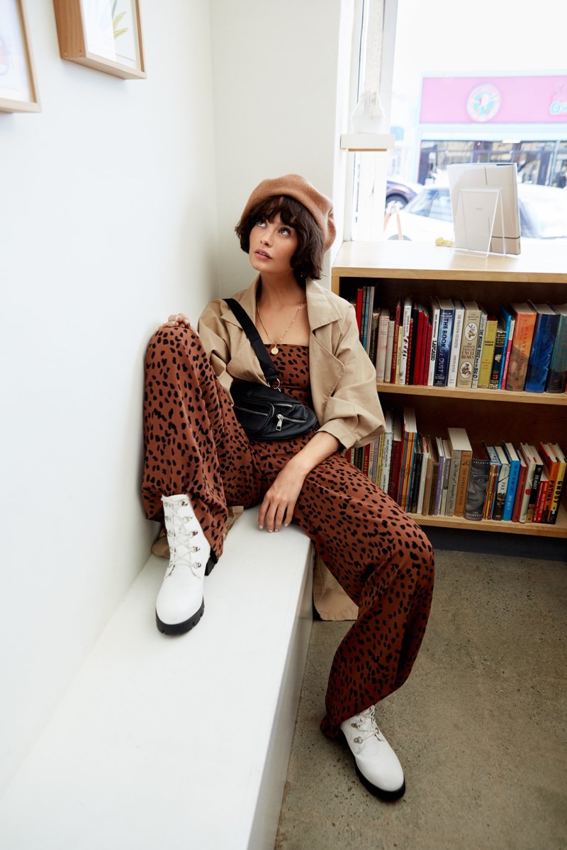 Taylor LaShae Poses in Nasty Gal's Cool New Arrivals