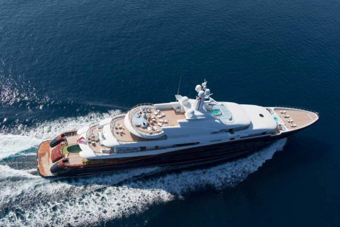 21 Luxury Photos Of Nirvana Yacht Worth $ 305 Million