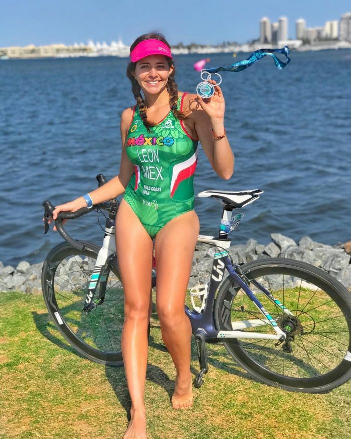 Cute Girls Like To Ride A Bicycle (34 Photos + 5 GIFs)