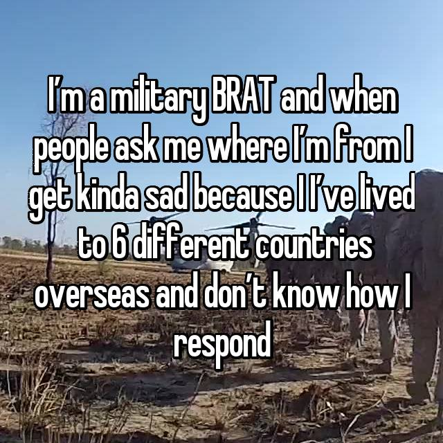These Kids Grew Up As Military Brats And Their Confessions Are Really Loathsome!