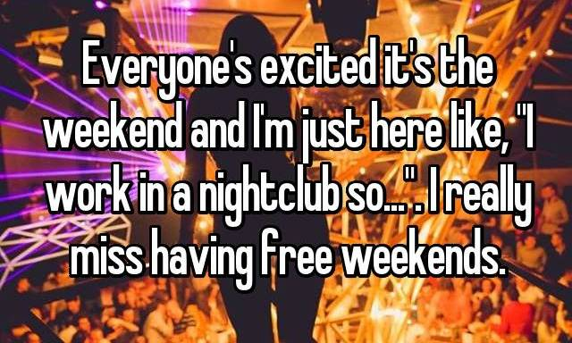 19 Nightclub Employees Share What Their Jobs Are Really Like