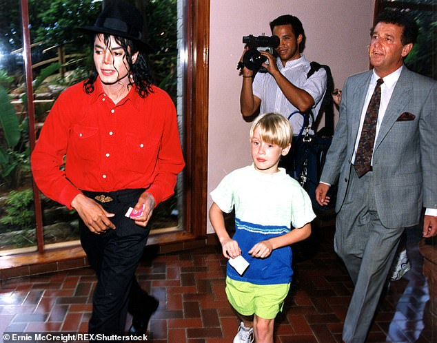 Wade Robson claims Michael Jackson dropped him for Macaulay Culkin