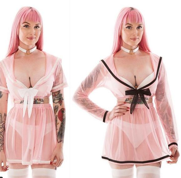Lingerie inspired by Sailor Moon