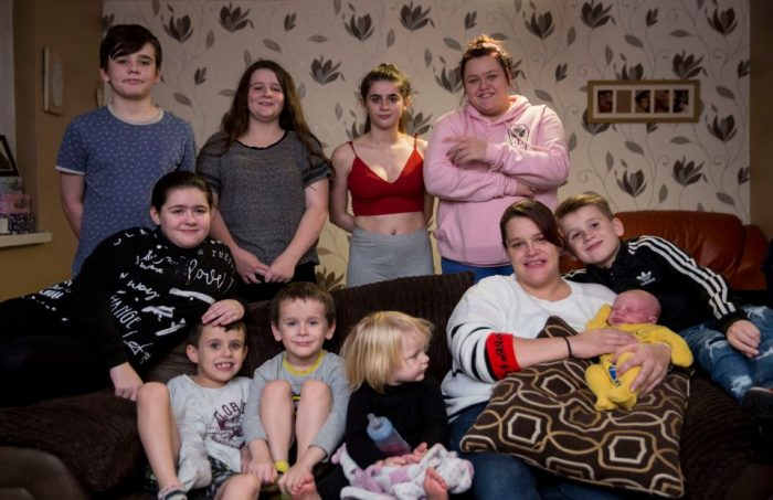 Single mum-of-nine who has 'never used a condom' is pregnant with baby number 10
