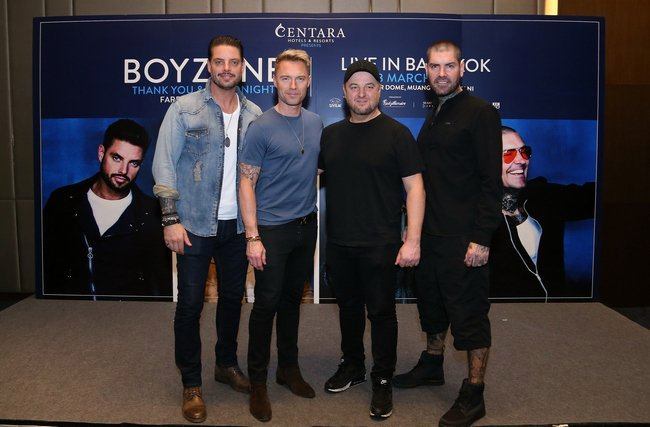 Keith Duffy rushed to hospital in Thailand forcing Boyzone to perform without him in Bangkok