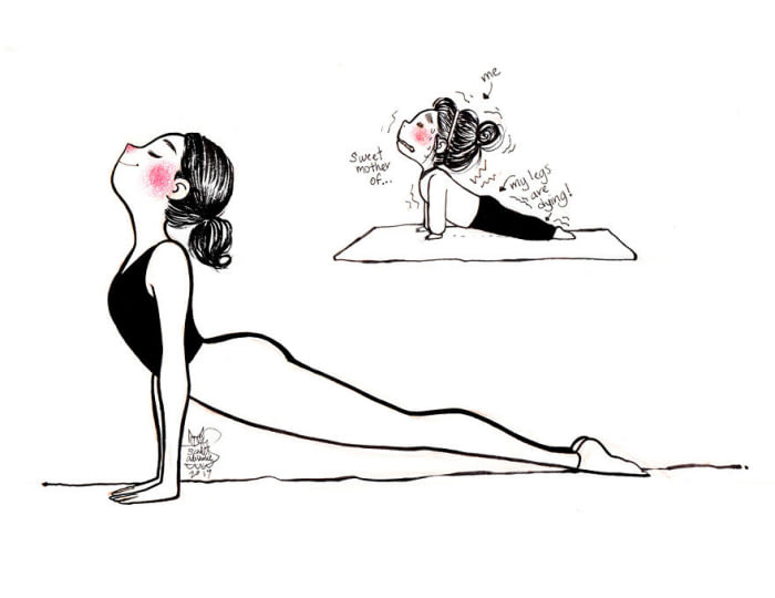 Yoga Expectations Vs Reality Images That Are Hilariously Relatable