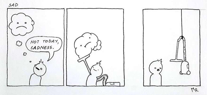 17 Hilariously Dark Comics That Are So Absurd You Won't Know Whether To Cry Or Laugh