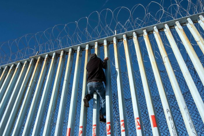 Highest February total of undocumented border crossers in 12 years
