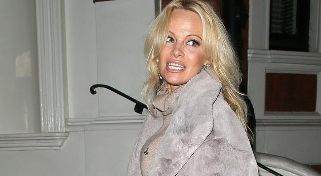 Pamela Anderson has attacked the UK after her rumoured lover Julian Assange was arrested at the Ecuadorian embassy in London