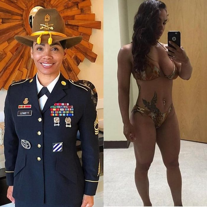 Uniformed Girls Turn Into Glamorous Ladies (40 Photos)