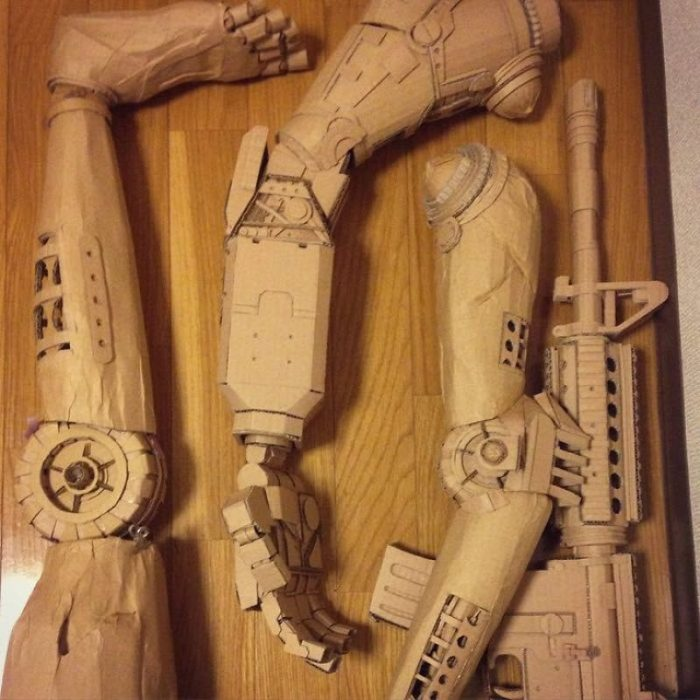 Cool Things Made Of Cardboard (18 Photos)