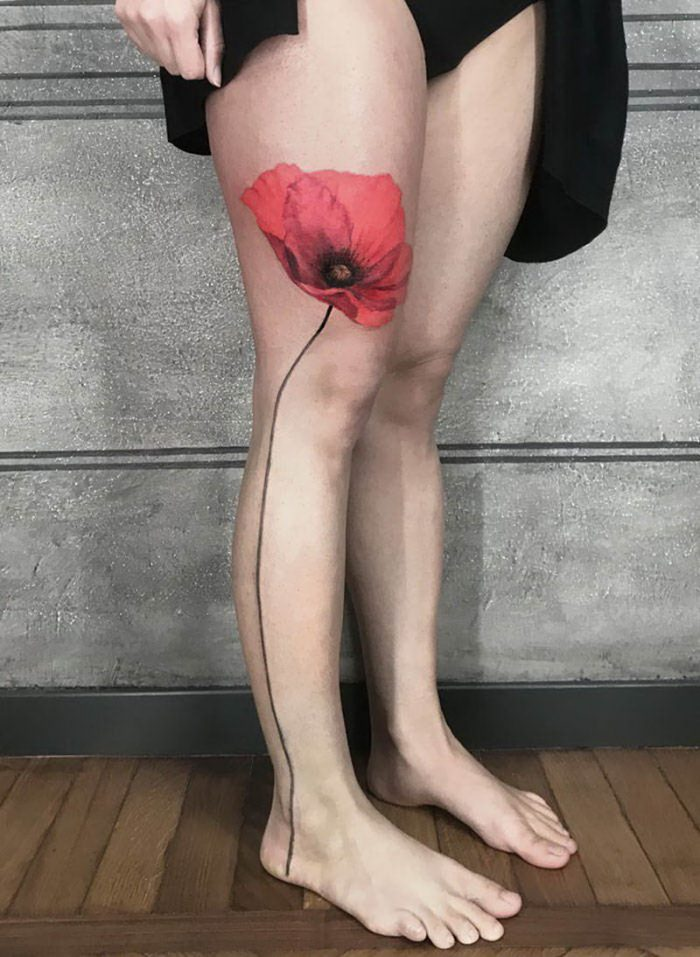 Cool Legs Tattoos For Men And Women (43 Photos)