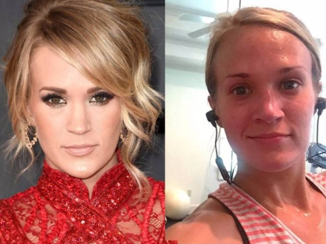Celebrities Without Makeup (35 Photos)