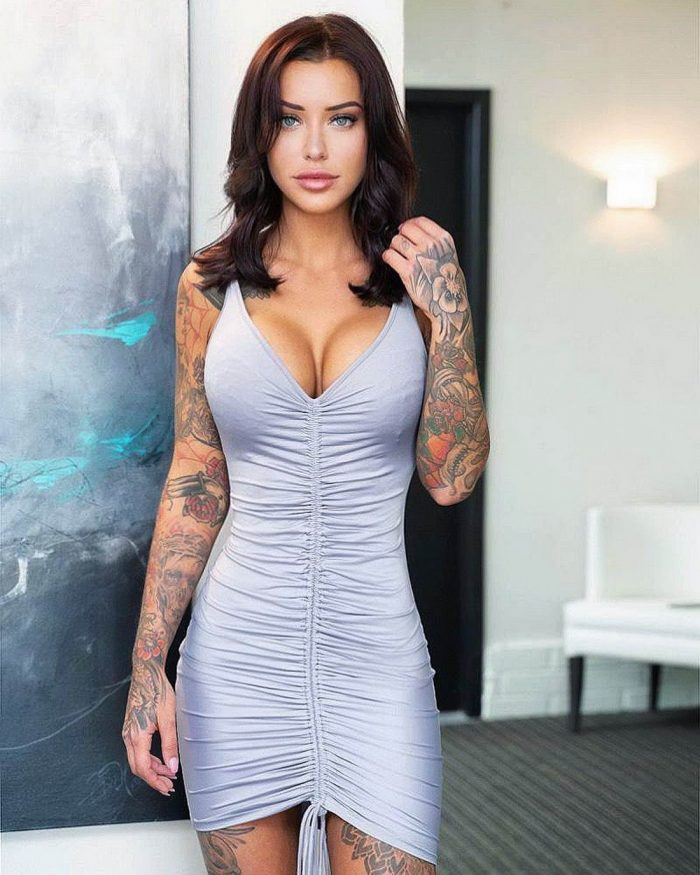 Hot Girls In Tight Dress You Must See (43 Photos)