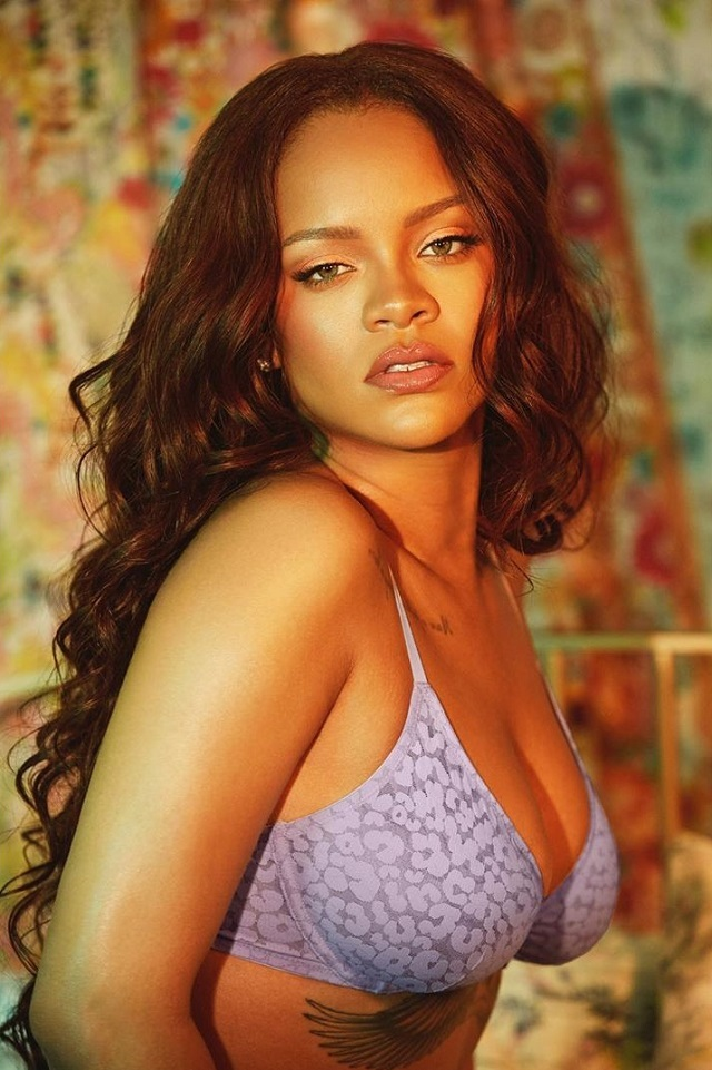 Rihanna Posted New Lingerie Photos And Her Website 'Fell' From The Influx Of Fans
