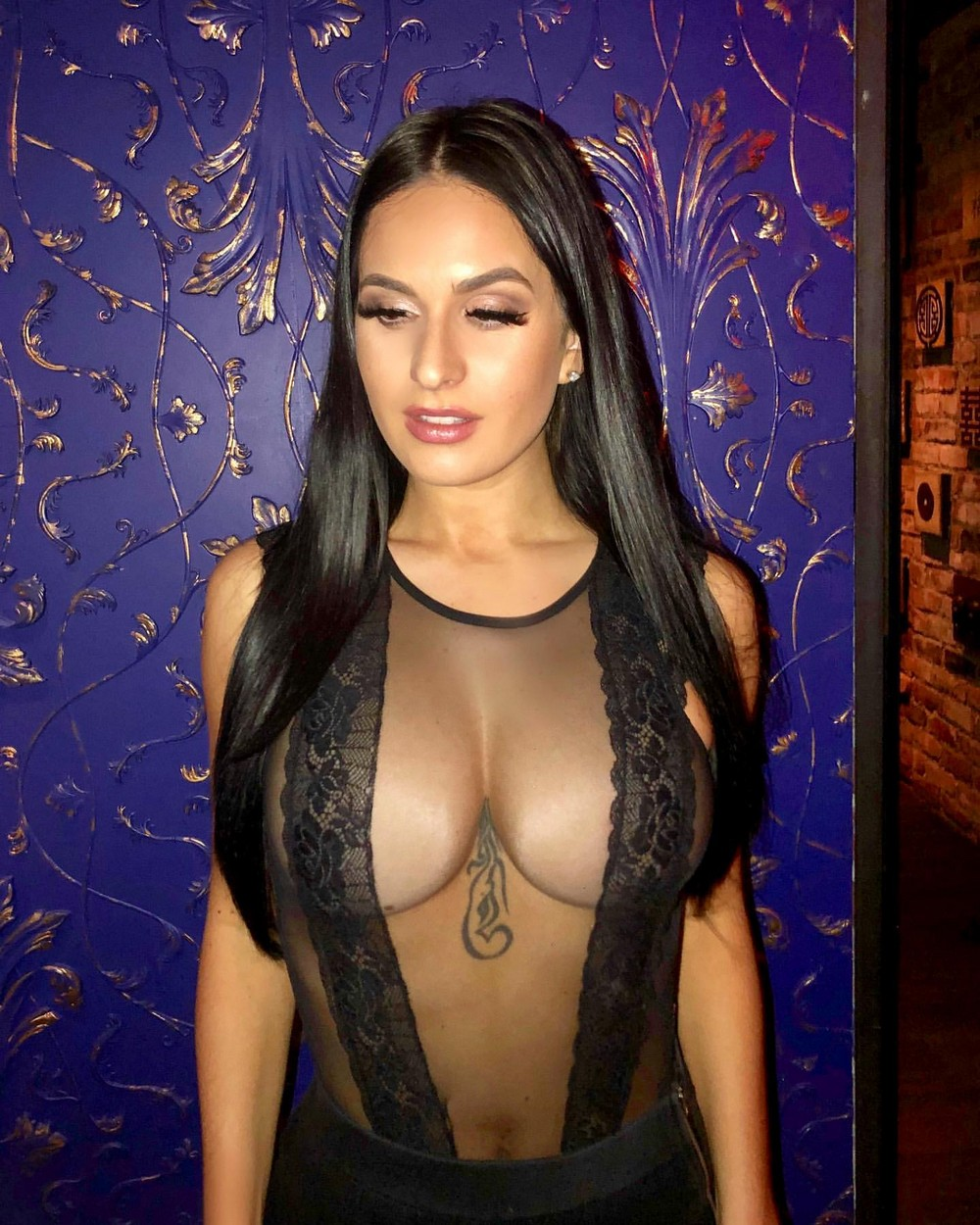 40 Hot Girls Wearing Mesh Clothes