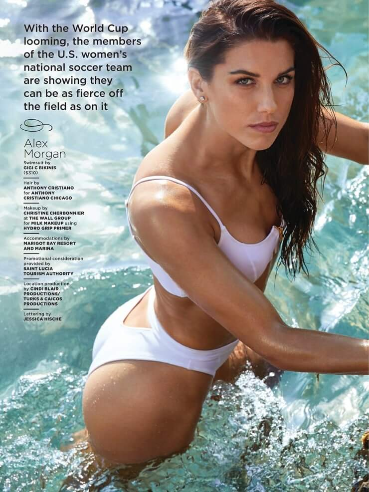 Alex Morgan Hottest Bikini Images, Topless Wallpapers Gallery