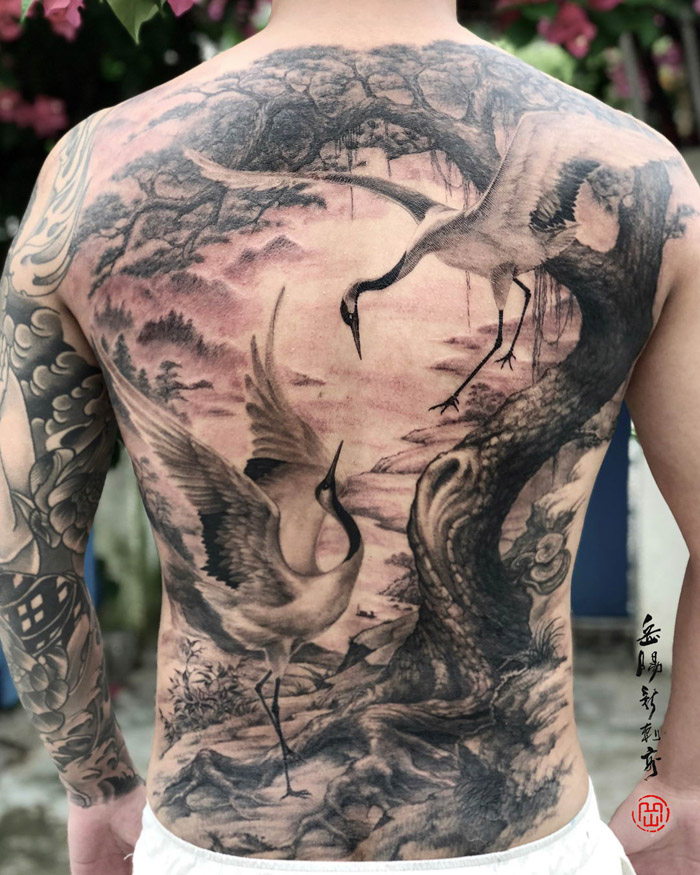 Cool Back Tattoos For Men And Women (30 Photos)