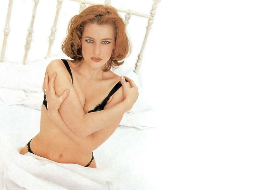 Gillian Anderson Hot Pictures And Fashion Style (49 Photos)