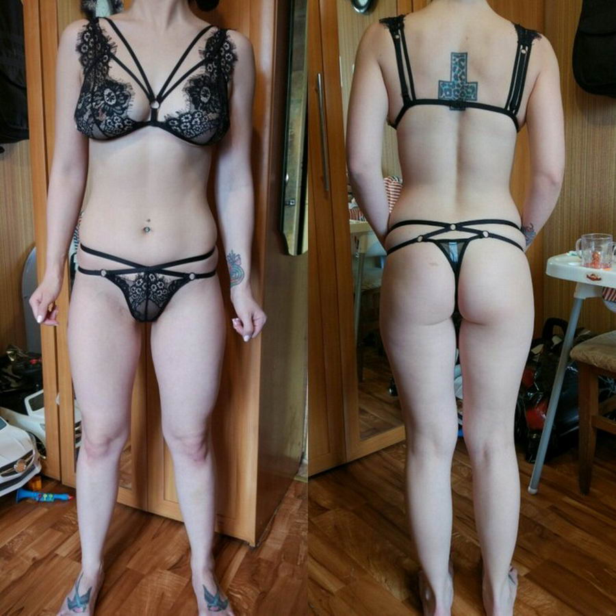 Girls Try On Underwear Bought In Online Store (40 Photos)